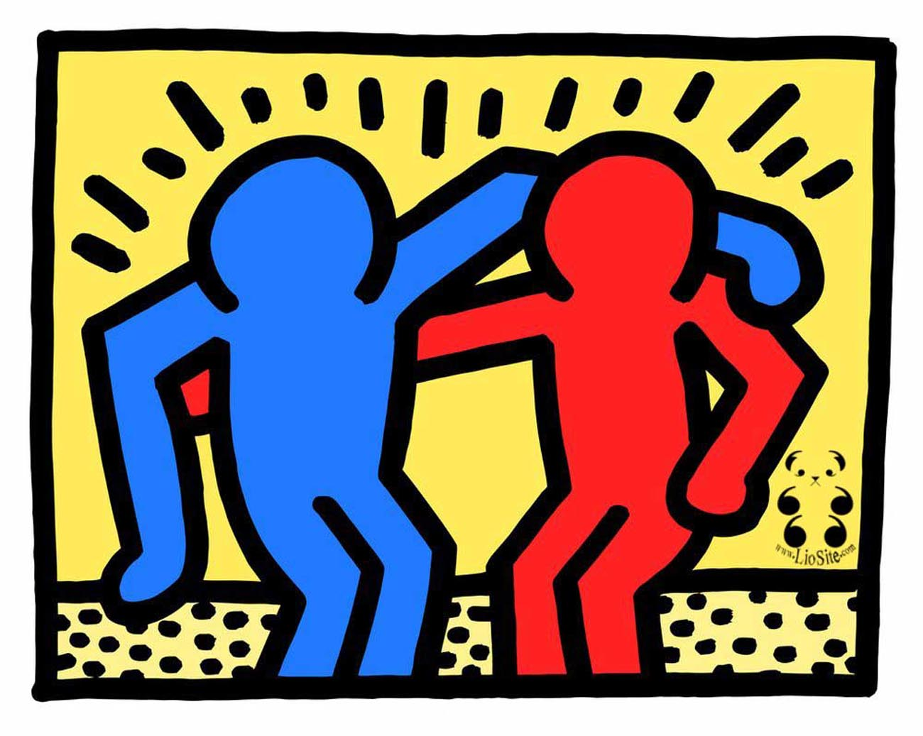 Keith Haring Best Buddy